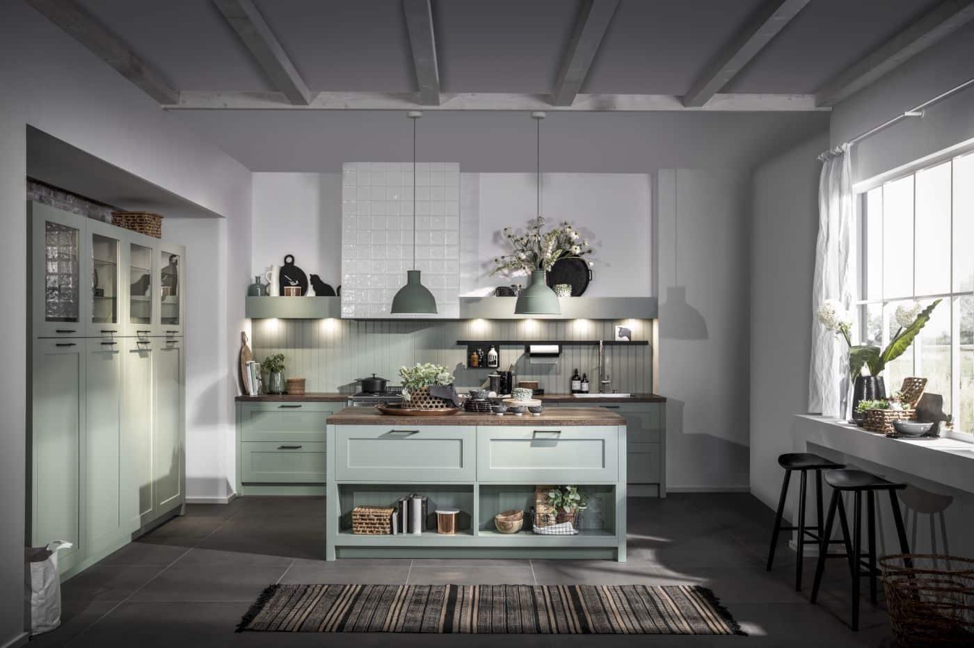 een landelijke keuken bij keukencentrum uniek