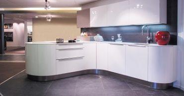 showroomkeuken modern bij keukencentrum uniek in hoogeveen drenthe